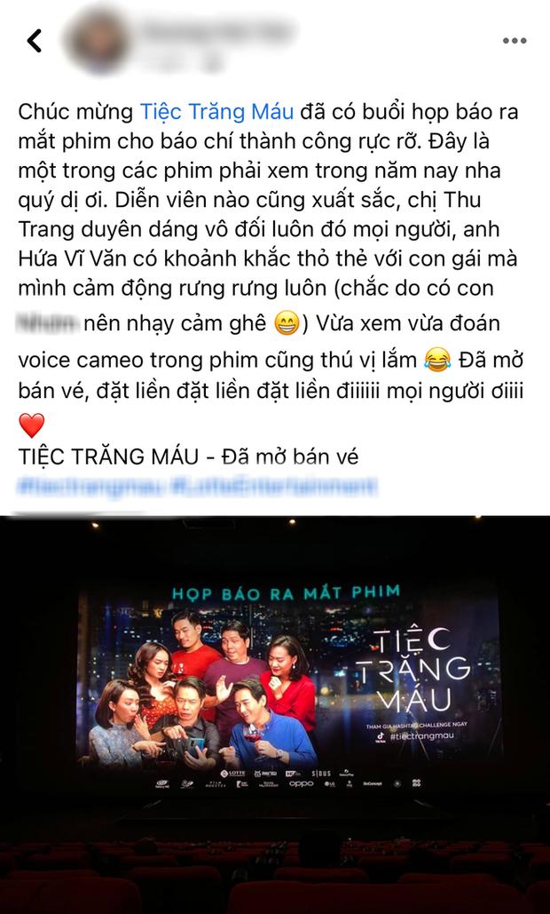 Netizen review nóng Tiệc Trăng Máu: Bom tấn Việt tròn trịa nhất năm, phim hay ăn đứt bản Hàn nha! - Ảnh 9.