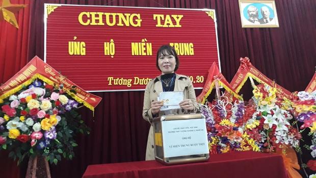 Các giáo viên trường cấp 3 ở Nghệ An từ chối nhận hoa ngày 20/10 để ủng hộ bà con miền Trung - Ảnh 3.