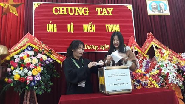 Các giáo viên trường cấp 3 ở Nghệ An từ chối nhận hoa ngày 20/10 để ủng hộ bà con miền Trung - Ảnh 6.