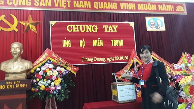 Các giáo viên trường cấp 3 ở Nghệ An từ chối nhận hoa ngày 20/10 để ủng hộ bà con miền Trung - Ảnh 9.