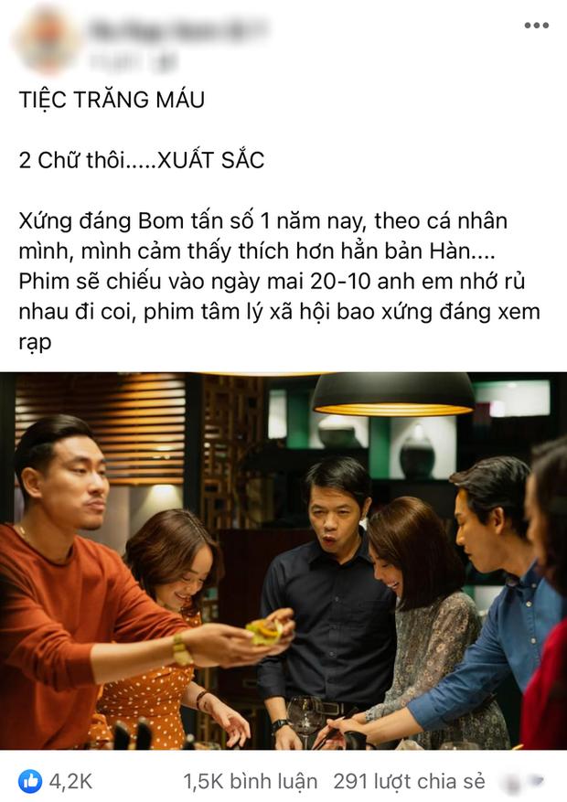 Netizen review nóng Tiệc Trăng Máu: Bom tấn Việt tròn trịa nhất năm, phim hay ăn đứt bản Hàn nha! - Ảnh 3.