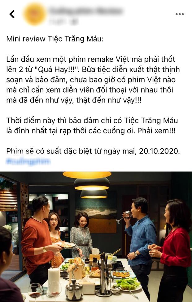 Netizen review nóng Tiệc Trăng Máu: Bom tấn Việt tròn trịa nhất năm, phim hay ăn đứt bản Hàn nha! - Ảnh 4.