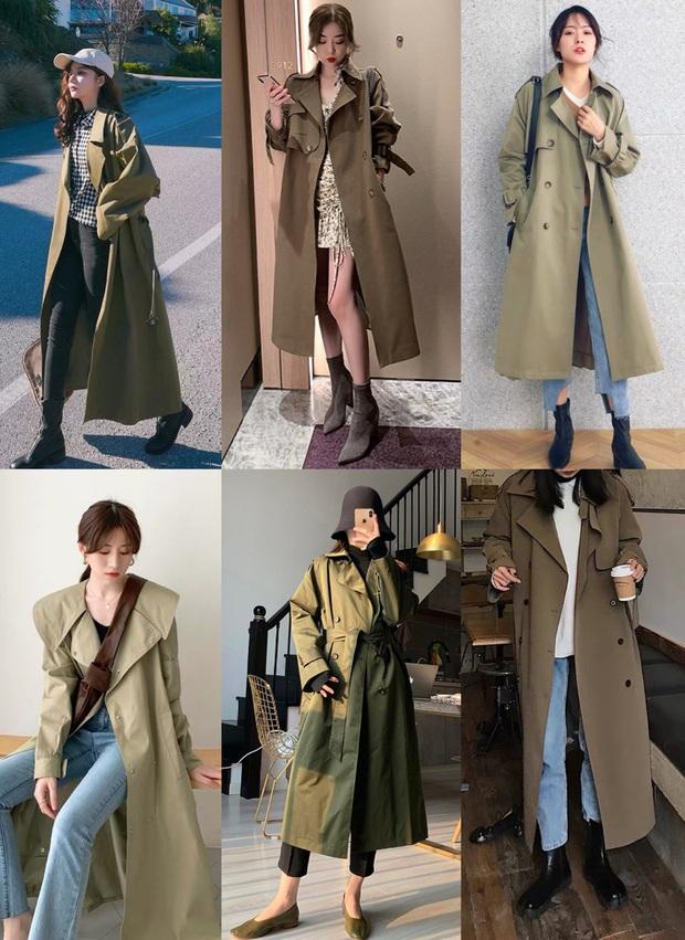4 màu áo trench coat được những hội sành điệu diện nhiều nhất mùa lạnh, mặc vu vơ cũng ra cây đồ sang xịn ra trò - Ảnh 3.