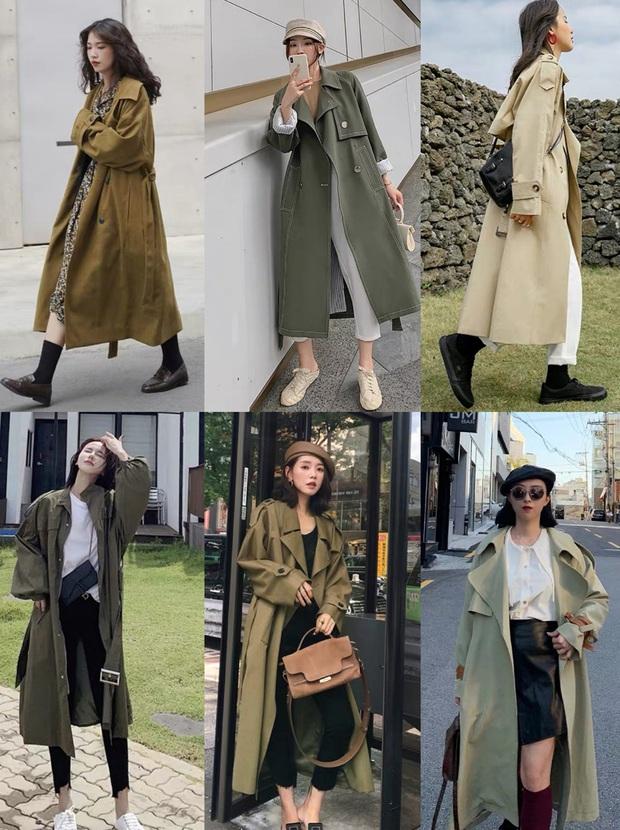 4 màu áo trench coat được những hội sành điệu diện nhiều nhất mùa lạnh, mặc vu vơ cũng ra cây đồ sang xịn ra trò - Ảnh 4.