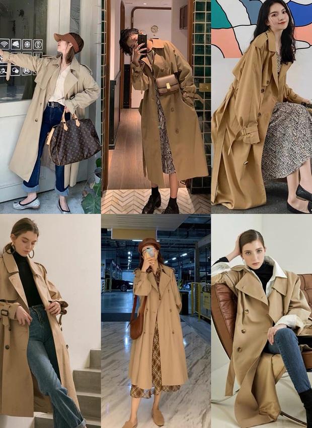 4 màu áo trench coat được những hội sành điệu diện nhiều nhất mùa lạnh, mặc vu vơ cũng ra cây đồ sang xịn ra trò - Ảnh 1.