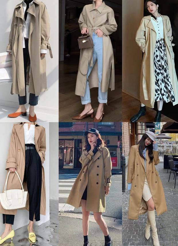 4 màu áo trench coat được những hội sành điệu diện nhiều nhất mùa lạnh, mặc vu vơ cũng ra cây đồ sang xịn ra trò - Ảnh 2.