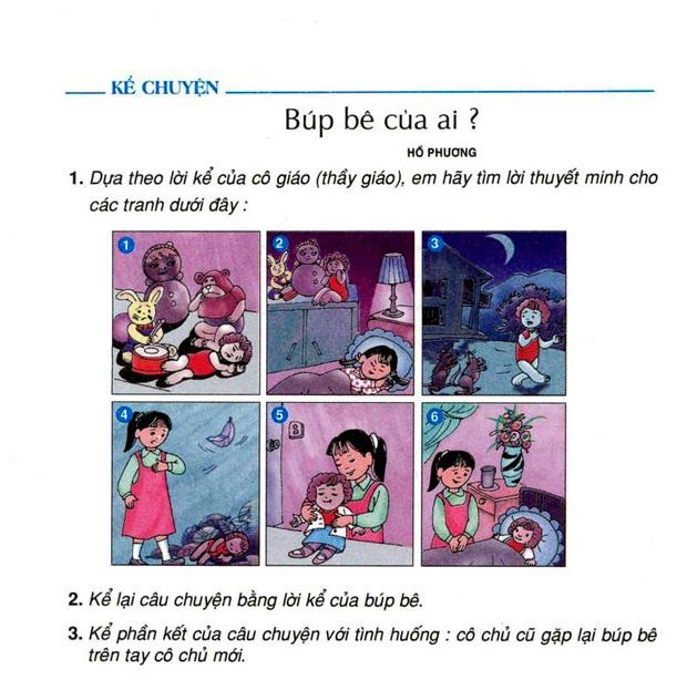 Netizen Việt thích thú khi phát hiện bà tổ búp bê ma Annabelle dạo chơi trong sách giáo khoa lớp 4  - Ảnh 3.