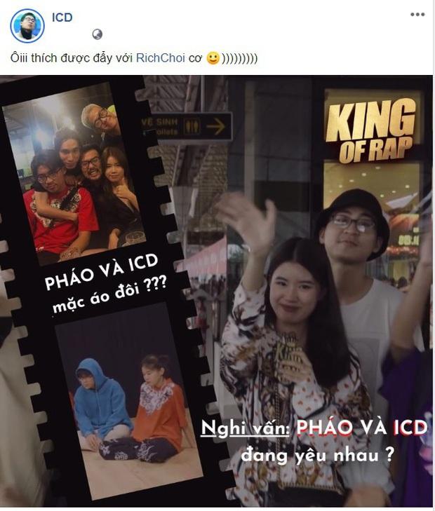 Không phải ICD, nhân vật mà Pháo (King Of Rap) đang hẹn hò là Tez - thí sinh Rap Việt? - Ảnh 3.