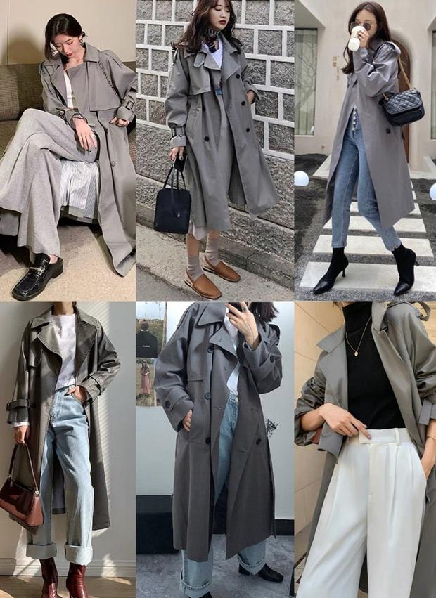 4 màu áo trench coat được những hội sành điệu diện nhiều nhất mùa lạnh, mặc vu vơ cũng ra cây đồ sang xịn ra trò - Ảnh 5.
