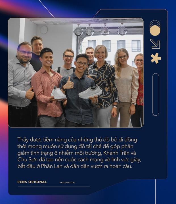 Start-up giày từ bã cà phê độc đáo và câu chuyện khởi nghiệp táo bạo trên đất Phần Lan của hai 9X người Việt - Ảnh 4.