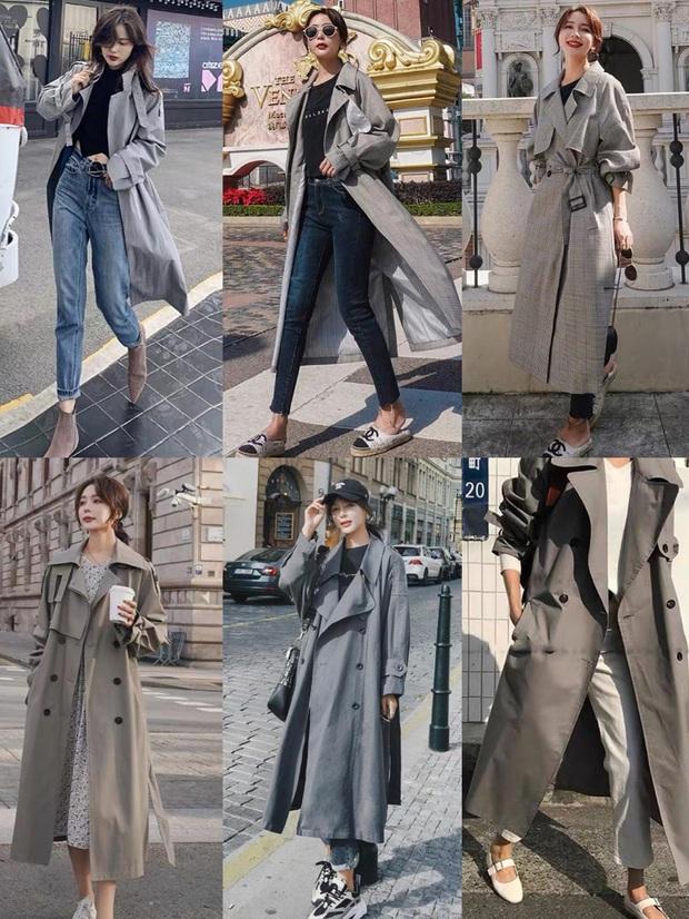 4 màu áo trench coat được những hội sành điệu diện nhiều nhất mùa lạnh, mặc vu vơ cũng ra cây đồ sang xịn ra trò - Ảnh 6.