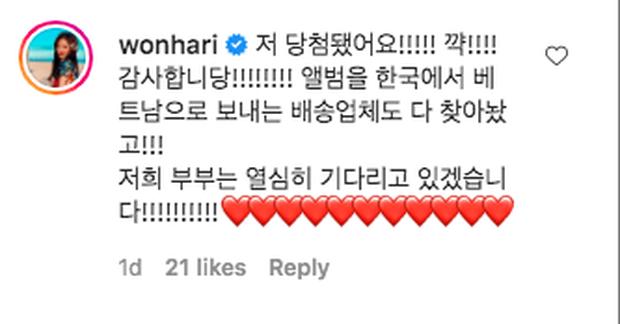 Hari Won thi chụp ảnh cùng thần tượng thắng luôn album có chữ ký, phấn khích đến mức rớt luôn liêm sỉ - Ảnh 5.