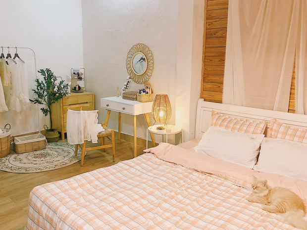 Phòng ngủ bừa bộn lột xác thành không gian cực chill: Màn cải tạo ngoạn mục với số tiền siêu rẻ khiến ai nấy mê tít - Ảnh 6.