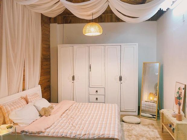 Phòng ngủ bừa bộn lột xác thành không gian cực chill: Màn cải tạo ngoạn mục với số tiền siêu rẻ khiến ai nấy mê tít - Ảnh 3.