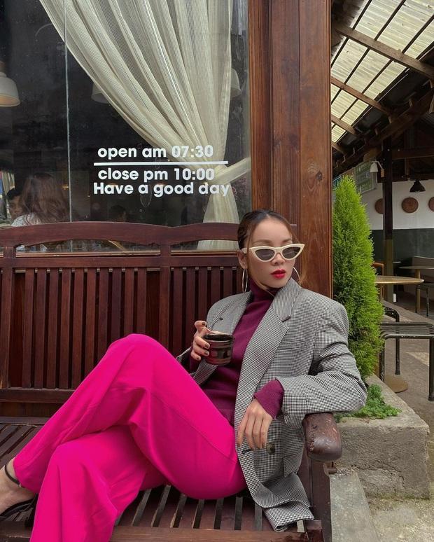 Instagram look của sao Việt tuần qua: Ngọc Trinh diện quần táo bạo trông như lộ nội y, Amee ngày càng chất - Ảnh 7.