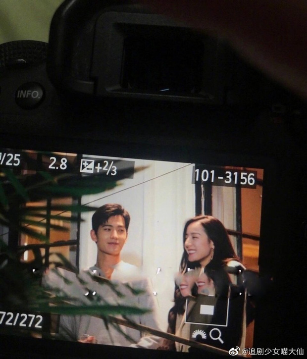 Địch Lệ Nhiệt Ba cười tít mắt với Dương Dương trên phim trường, chưa gì đã thấy chemistry tung tóe - Ảnh 3.