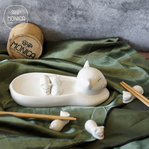 Học người Nhật tô điểm cho bàn ăn xinh xẻo với đồ gác đũa xinh xỉu thấy mà cưng - Ảnh 5.