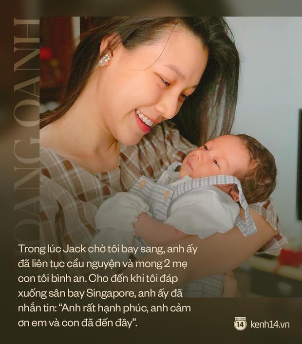 MC Hoàng Oanh: Nghe chồng tâm sự, tôi xót xa vô cùng, chỉ muốn tìm mọi biện pháp để bế con đi mà thôi - Ảnh 7.