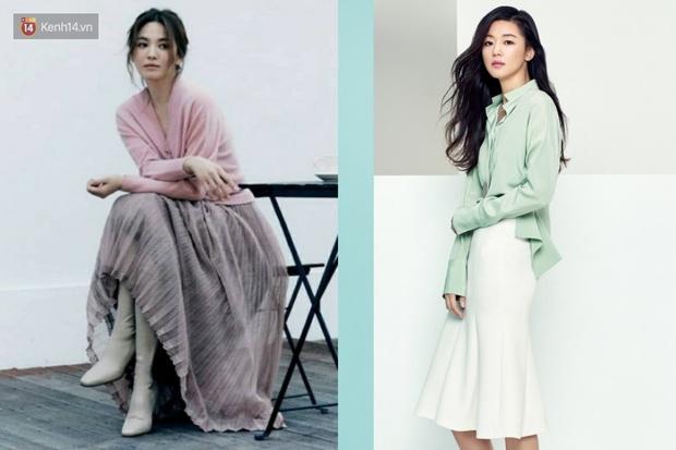 2 tường thành nhan sắc đối đầu: Song Hye Kyo thoát dớp sến nên sang hơn rồi, nhưng liệu có cân được mợ chảnh Jeon Ji Hyun? - Ảnh 7.