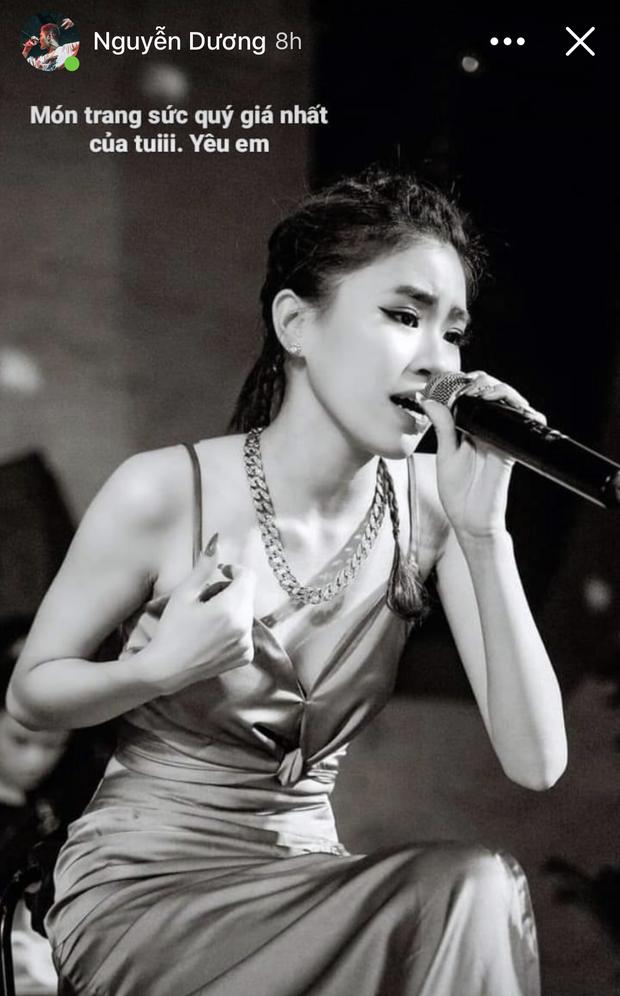 Nửa đêm, bạn gái Tez chính thức lên tiếng trước drama rapper đăng ảnh Pháo và nói yêu em  - Ảnh 1.