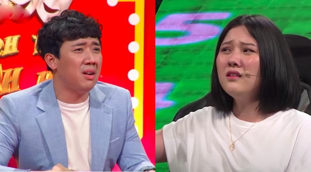 Em gái Trấn Thành có khác, thi Nhanh Như Chớp cũng lộ loạt biểu cảm y đúc anh trai! - Ảnh 4.