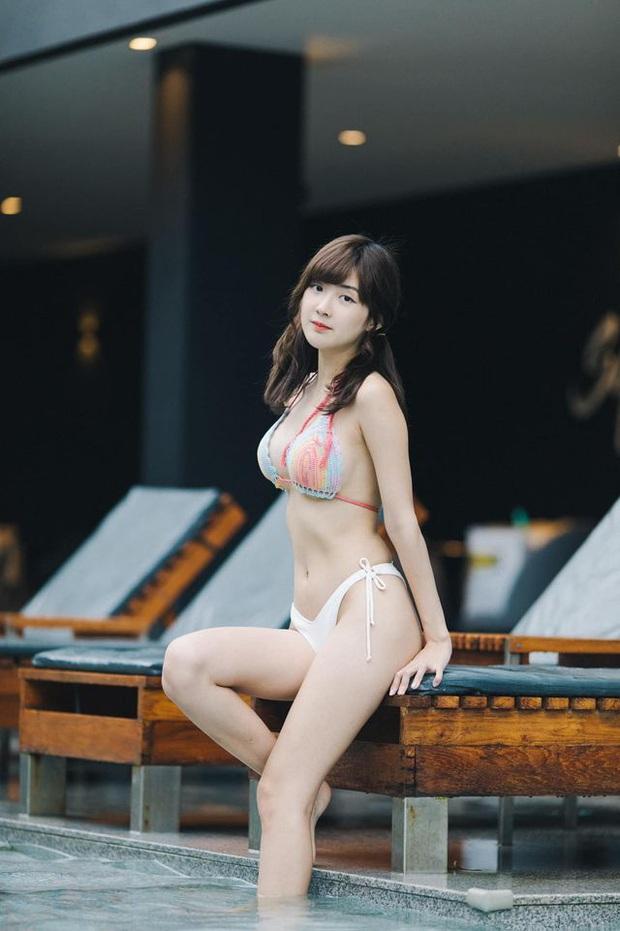 Ngắm vẻ đẹp tựa thiên thần của nữ streamer Thái, nhưng điều gây sốt lại là body quá nóng bỏng khi diện bikini - Ảnh 6.
