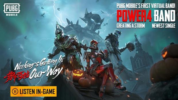 Đua đòi với LMHT, PUBG Mobile ra mắt nhóm nhạc ảo đầu tiên mang tên Power4 - Ảnh 1.