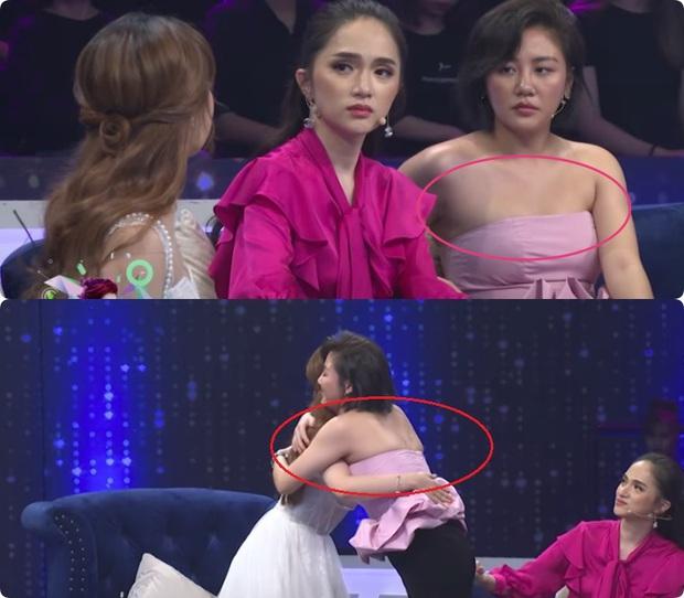 Sao Việt và những pha lộ nguyên hình trên sóng truyền hình: Người ngấn mỡ bụng, người lộ mỡ lưng bèo nhèo - Ảnh 6.