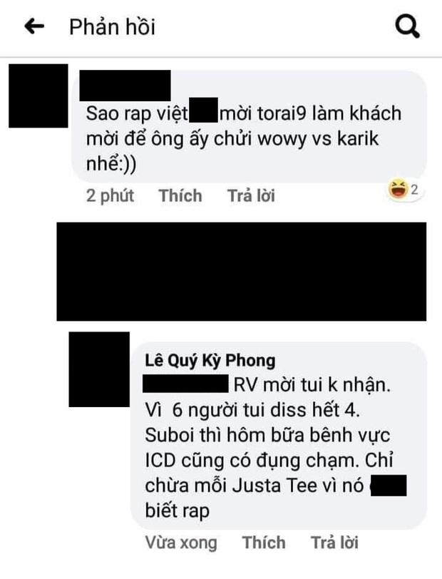 Rhymastic và Wowy đáp trả cực gắt sau khi rapper Torai9 tuyên bố từng từ chối lời mời của Rap Việt, còn cà khịa JustaTee không biết rap - Ảnh 1.