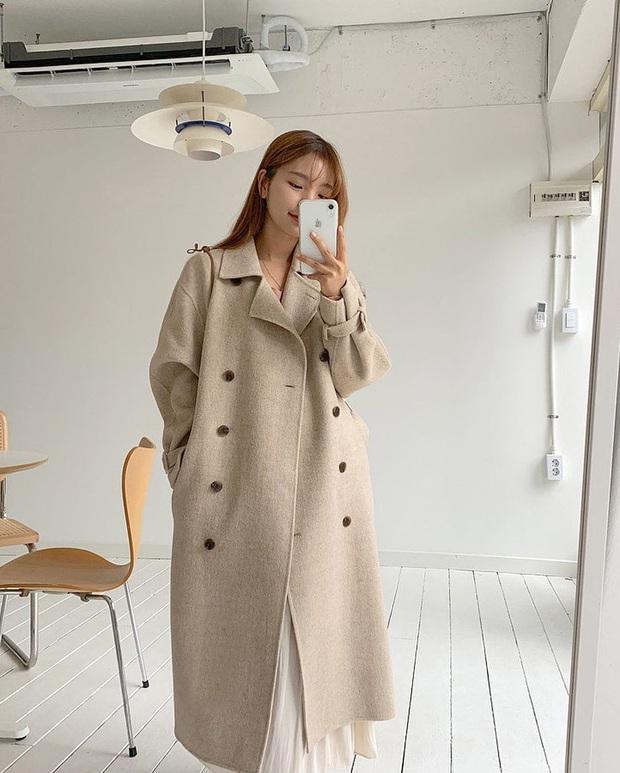 Sắm áo màu be, style của bạn chỉ có thanh lịch như gái Pháp hoặc sang xịn như gái Hàn trở lên - Ảnh 6.