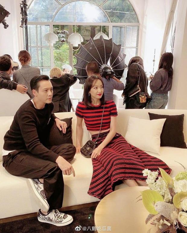 """Đụng đồ hiệu lần thứ """"n"""" với Jennie, Tống Thiến khoe eo thon bất ngờ trái ngược hẳn với pha thảm họa tại Kim Ưng - Ảnh 2."""