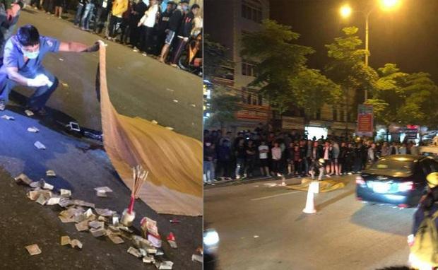 Nam thanh niên bốc đầu xe khiến người ngồi sau ngã văng sang làn đường ngược chiều rồi bị ô tô cán tử vong - Ảnh 1.