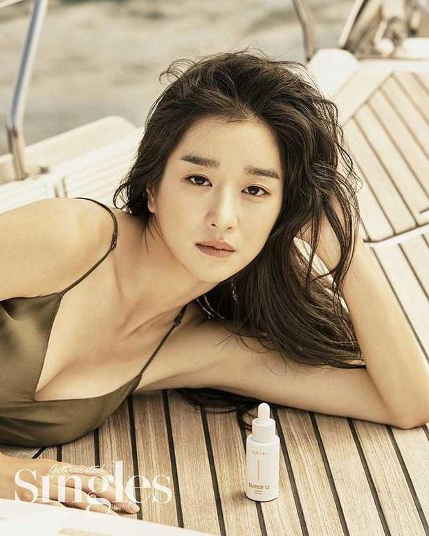 Nghẹt thở vì vòng 1 căng tràn của Seo Ye Ji: Diện đồ hở sexy bức thở, mặc đồ kín vẫn nóng bỏng bức người - Ảnh 12.