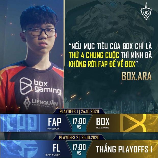 FAP Esports - BOX Gaming: Duyên nợ đối đầu, cân tài cân sức - Ảnh 6.