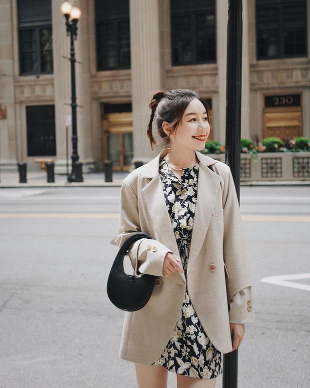 Chỉ với một kiểu blazer, nàng fashionista mix được cả chục set đồ xịn đẹp, học theo thì bạn chẳng cần shopping nhiều cho phí tiền - Ảnh 6.