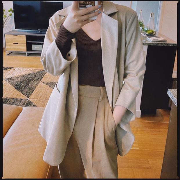 Chỉ với một kiểu blazer, nàng fashionista mix được cả chục set đồ xịn đẹp, học theo thì bạn chẳng cần shopping nhiều cho phí tiền - Ảnh 9.