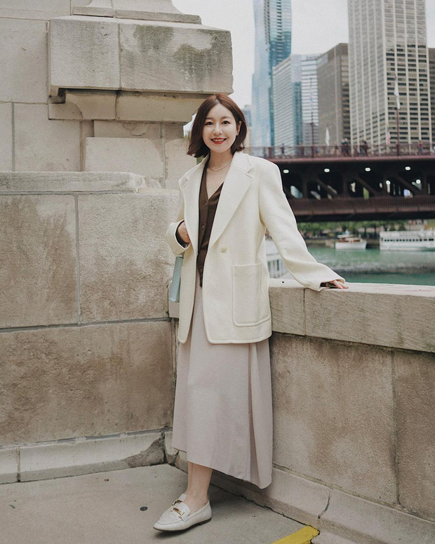 Chỉ với một kiểu blazer, nàng fashionista mix được cả chục set đồ xịn đẹp, học theo thì bạn chẳng cần shopping nhiều cho phí tiền - Ảnh 10.