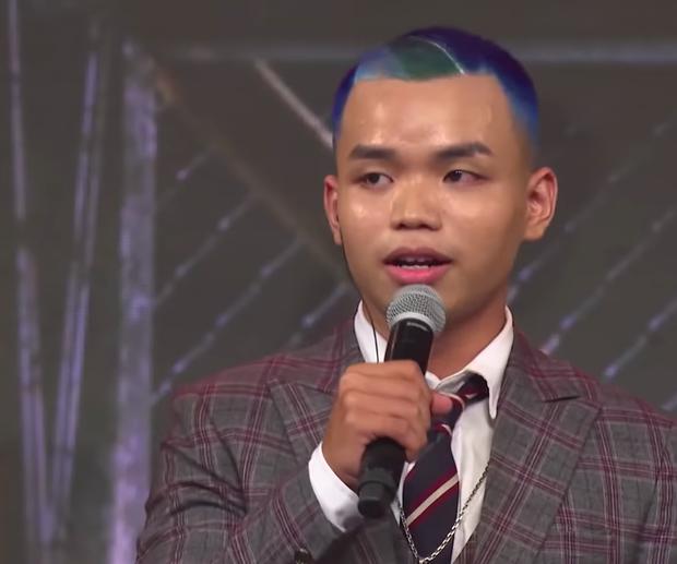 No mắt với bảng màu sặc sỡ các kiểu đầu chất chơi của thí sinh Rap Việt! - Ảnh 5.