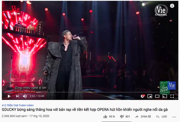 Sau màn trình diễn gây bão tại Rap Việt, Tiền Nhiều Để Làm Gì của GDucky leo thẳng #2 Apple Music, lọt top 50 ca khúc viral nhất Việt Nam - Ảnh 4.