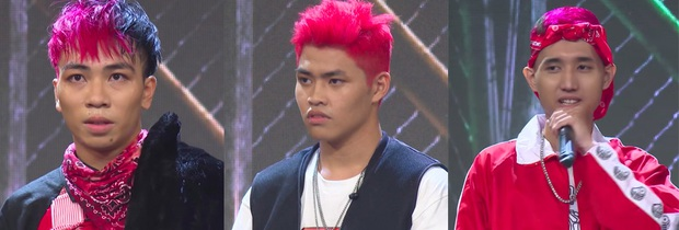 No mắt với bảng màu sặc sỡ các kiểu đầu chất chơi của thí sinh Rap Việt! - Ảnh 1.