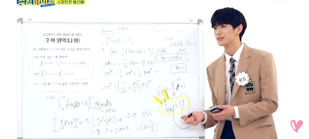 Nam idol gây sốc khi giải được bài Toán mà 90% học sinh Hàn Quốc bó tay, tất cả đều nhờ thói quen kỳ lạ khi rảnh rỗi? - Ảnh 2.