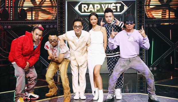Dàn sao Rap Việt sau 2 tháng đồng hành cùng show: Ai là người lời nhất? - Ảnh 1.