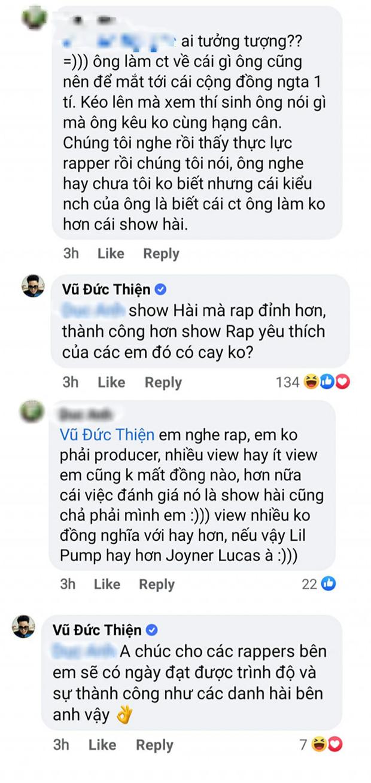 Sau nghi vấn phát ngôn cà khịa King Of Rap, Rhymastic đăng đàn xin lỗi: Nóng giận đã làm tôi đi một nước hơi sai - Ảnh 3.