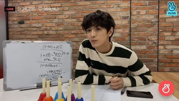 Nam idol gây sốc khi giải được bài Toán mà 90% học sinh Hàn Quốc bó tay, tất cả đều nhờ thói quen kỳ lạ khi rảnh rỗi? - Ảnh 4.
