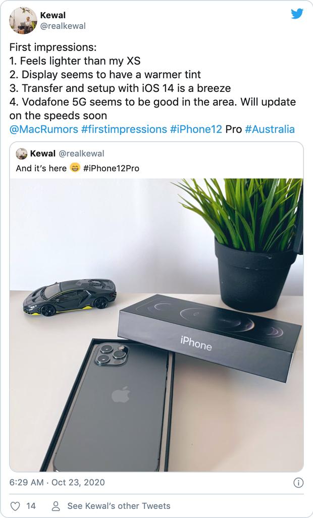 iPhone 12 vừa tung ra thị trường đã nhận được mưa lời khen từ người dùng quốc tế - Ảnh 6.