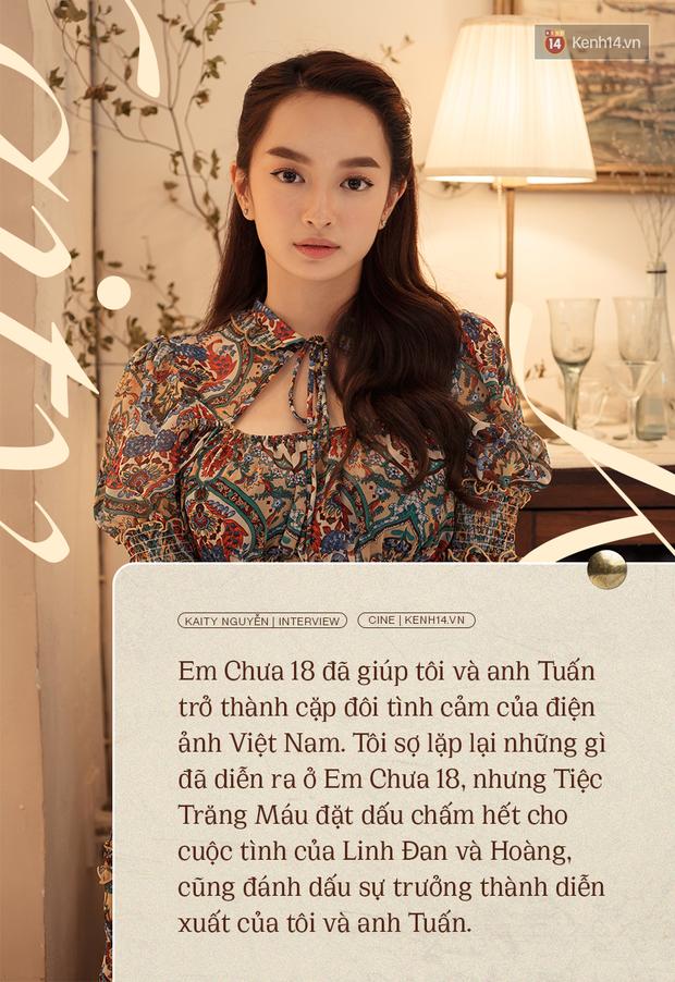 Kaity Nguyễn: Tiệc Trăng Máu đã đặt dấu chấm hết cho cuộc tình của tôi và Kiều Minh Tuấn ở Em Chưa 18 - Ảnh 2.