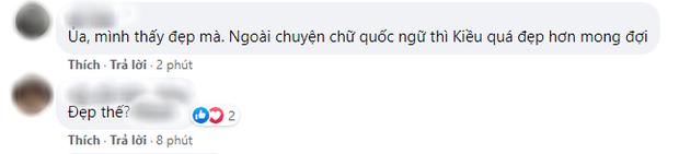 HOT: Nàng Kiều lộ diện, fan Việt ưng mạnh nhan sắc nhưng màu trang phục lại gây tranh cãi? - Ảnh 3.