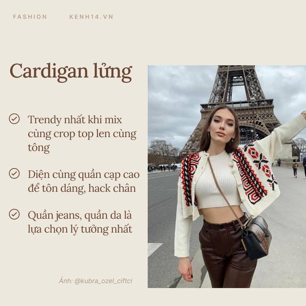 Hội gái Tây có 7 chiêu diện cardigan đẹp xịn ngất ngây, học theo thì style mùa lạnh của bạn sẽ sang trang - Ảnh 4.