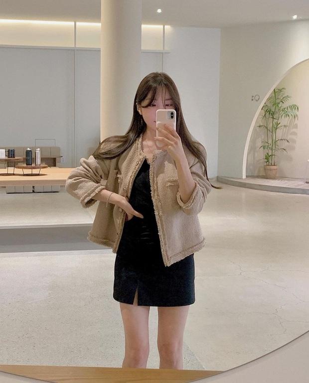 Sắm áo màu be, style của bạn chỉ có thanh lịch như gái Pháp hoặc sang xịn như gái Hàn trở lên  - Ảnh 4.