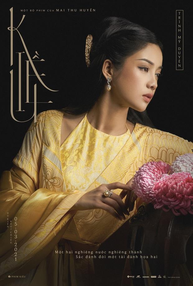 HOT: Nàng Kiều lộ diện, fan Việt ưng mạnh nhan sắc nhưng màu trang phục lại gây tranh cãi? - Ảnh 1.